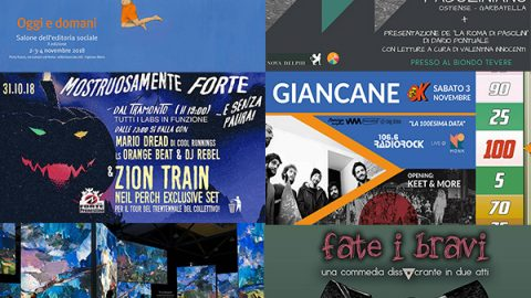 Take a look around: 29 ottobre/4 novembre