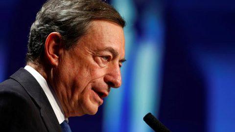 Draghi frena sul rialzo dei tassi