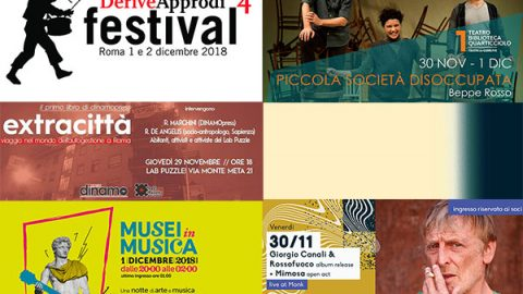 Take a look around: 26 novembre/2 dicembre
