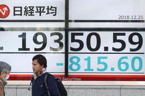 Le tensioni di Wall Street affondano le Borse asiatiche: Tokyo perde il 5%