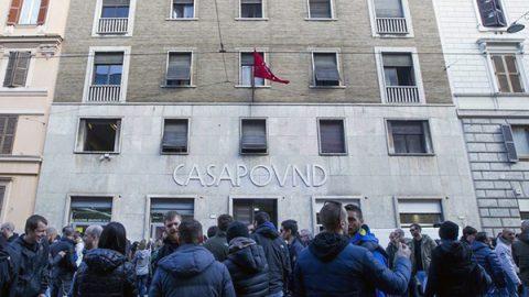 """Il Comune di Roma ha deciso: """"Sì allo sgombero di CasaPound"""""""