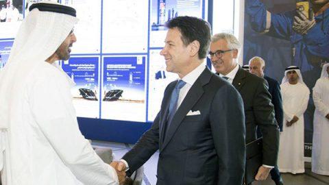 Maxi accordo Eni-Emirati Arabi, investimento da 3,3 miliardi di dollari. Conte: valore strategico per l'Italia
