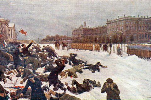 """22 gennaio 1905: la """"domenica di sangue"""" e l'inizio della prima rivoluzione russa"""