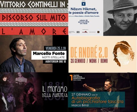 Take a look around: 21/27 gennaio
