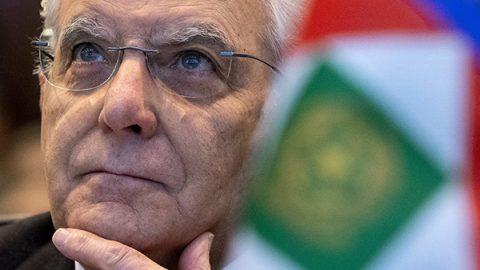 """Mattarella: """"Una politica responsabile non alimenta paure e nazionalismi"""""""