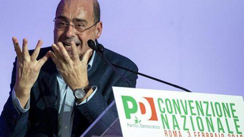 """Zingaretti: """"Inciuci col M5S? Chi mi accusa impari a sconfiggerli come ho fatto io"""""""