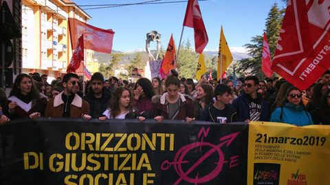 Mafie, nella Giornata della Memoria e dell'Impegno in migliaia nelle piazze di tutta Italia