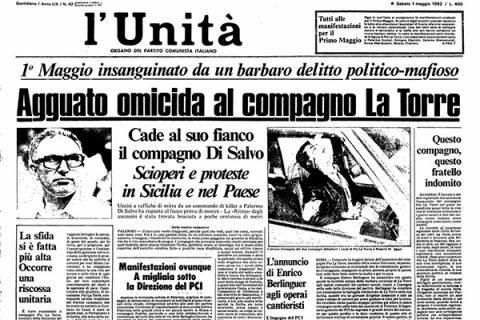 30 aprile 1982: l'agguato a Pio La Torre