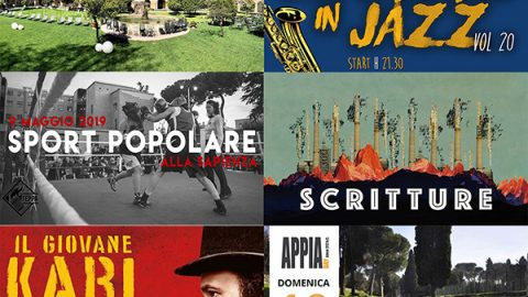 Take a look around: 6/12 maggio