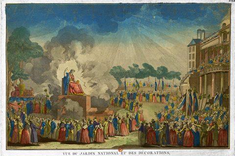 7 maggio 1794: Robespierre introduce il deismo come religione di Stato
