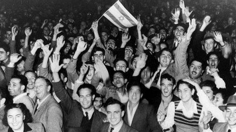 14 maggio 1948: viene fondato lo Stato di Israele