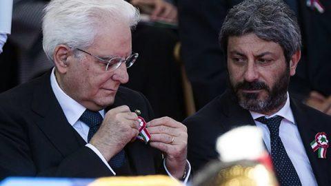 """2 Giugno, Presidente della Camera Fico: """"Festa di tutti, anche migranti e rom"""". Salvini: """"Solo agli italiani"""""""