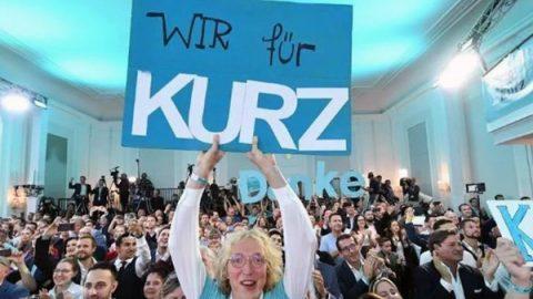 Austria, exit poll: Kurz vola al 37%, ultradestra al 17%, Spoe al 23%