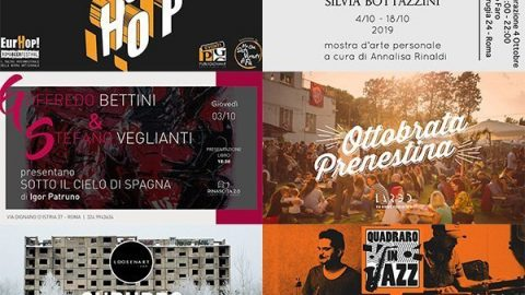 Take a look around: 30 settembre/6 ottobre