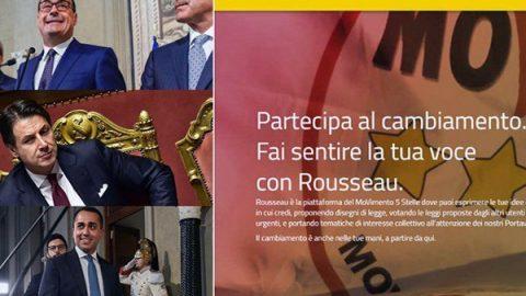 """Rousseau: il 79,3% ha detto sì al governo M5S-Pd. Di Maio: """"Voto plebiscitario"""". Salvini: """"Vergognoso mercato delle vacche"""""""