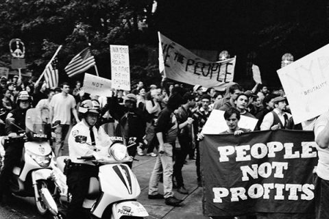 17 settembre 2011: nasce il movimento Occupy Wall Street