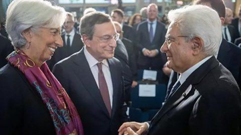 Draghi, addio con Mattarella e Merkel argini ai no euro