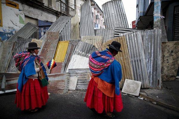 bolivia manifestazione