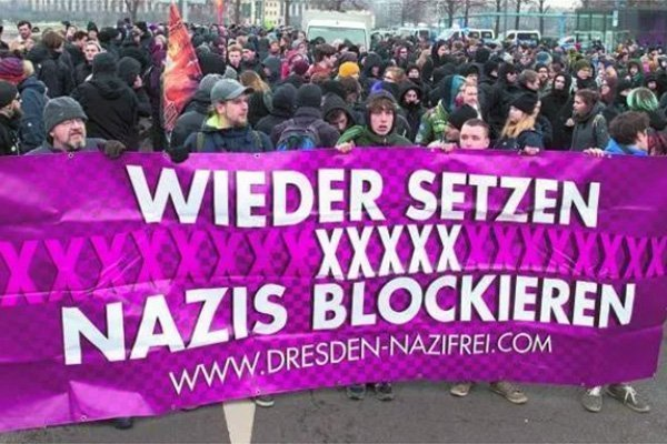 dresda nazismo