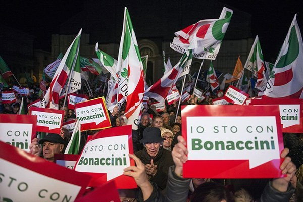 bonaccini bandiere