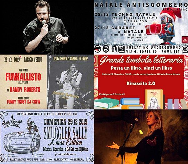 eventi dicembre roma