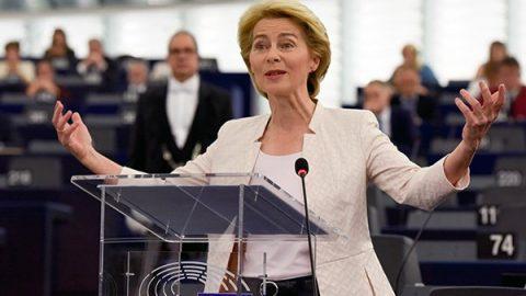 Ursula von der Leyen presenta l'European Green Deal
