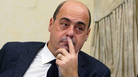 """Zingaretti: """"Conte si 'mette a sinistra'? Fatto positivo"""""""