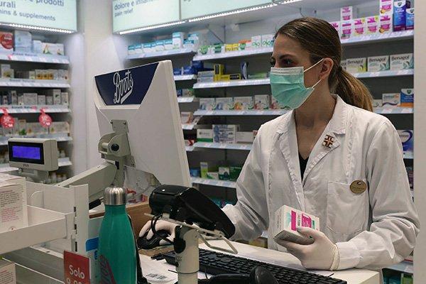 coronavirus farmacia