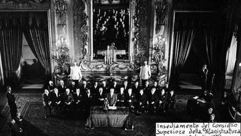 24 marzo 1958: viene istituito il CSM