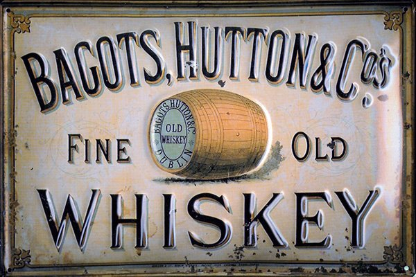 whiskey vintage label