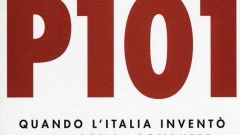 p101 copertina libro