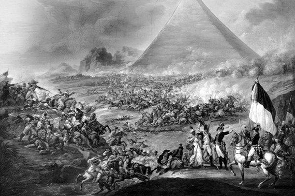 la battaglia delle piramidi