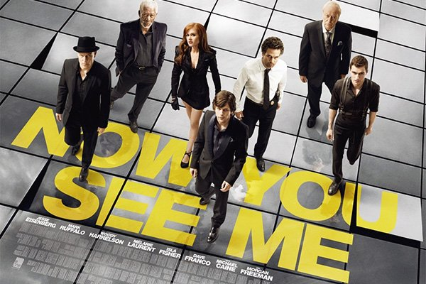 now you see me film poster