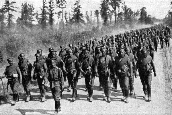 soldati russi fronte prima guerra mondiale