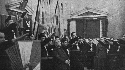 metaxas regime fascista
