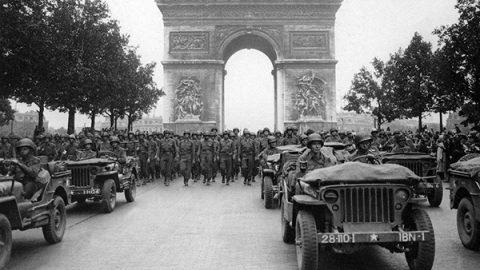 liberazione parigi 1944