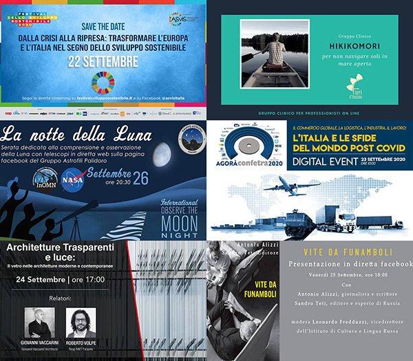 eventi 21-27 settembre