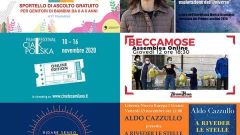 eventi online novembre