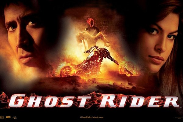 ghost rider copertina film