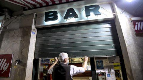 bar chiuso