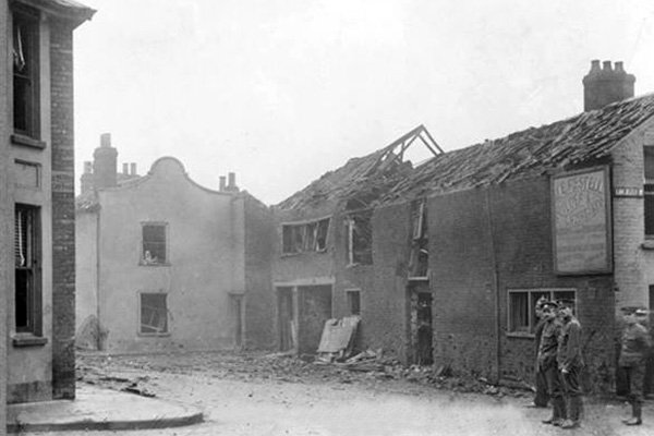 great yarmouth bombing