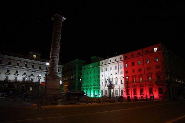 montecitorio tricolore