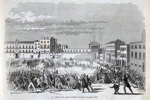 12 gennaio 1848: Palermo insorge contro i Borboni