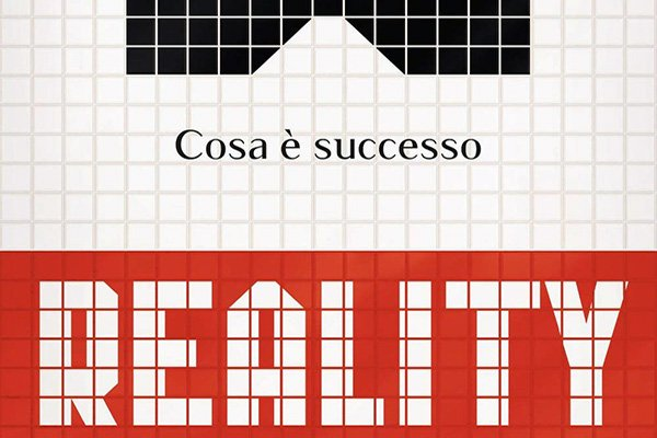 reality copertina libro