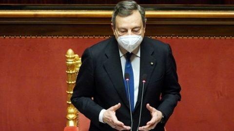 draghi discorso parlamento