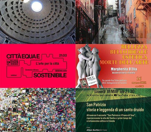 eventi online marzo