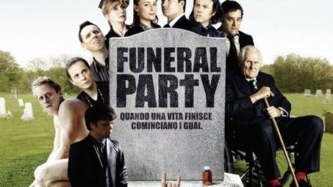 funeral party locandina film