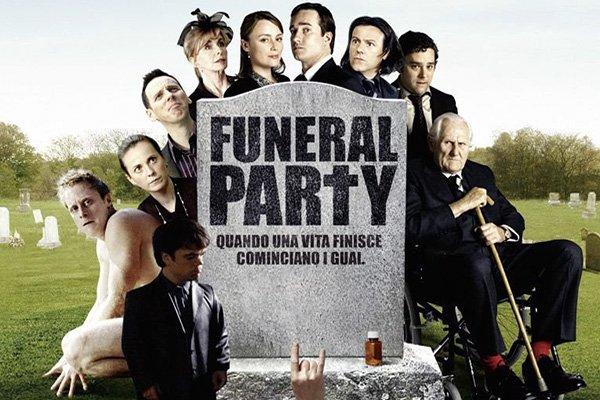 funeral party locandina film
